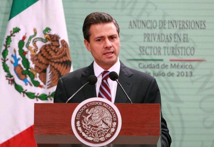 Garantizó Peña Nieto asegura que se puede ejercer el voto de manera libre y secreta. (presidencia.gob.mx)