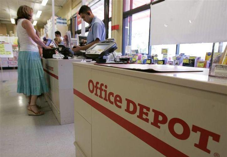 Office Depot, con sede en Boca Raton, Florida, tiene mil 675 tiendas en todo el mundo. (Archivo/AP)
