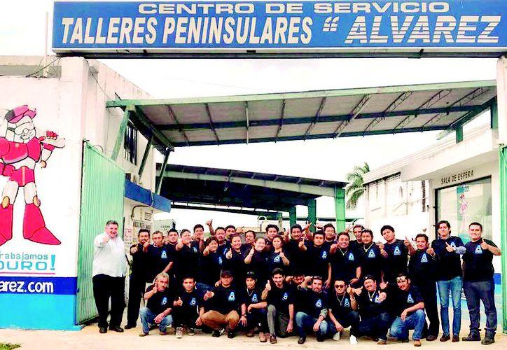 Con un equipo de colaboradores altamente capacitados Grupo Álvarez te espera para ofrecerte un servicio de calidad. (Milenio Novedades)