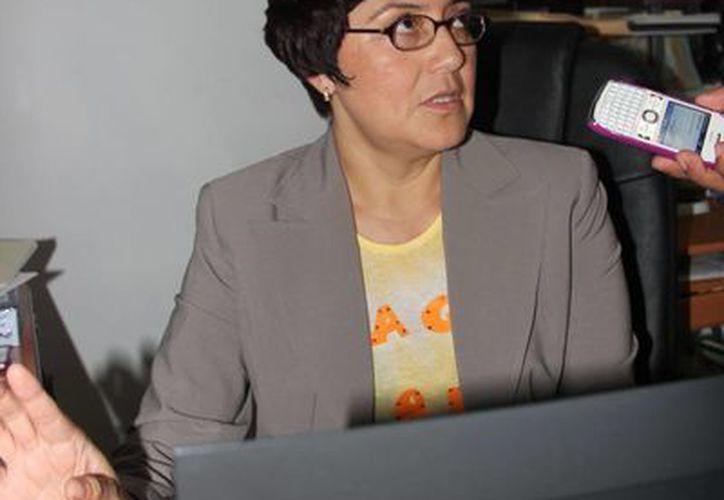 María Guadalupe Pérez dijo que todos los trámites son gratuitos. (Rossy López/SIPSE)