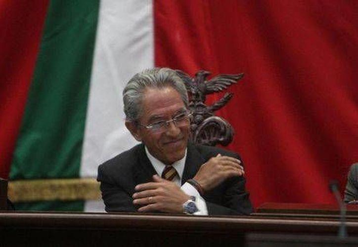 Salvador Jara Guerrero fue designado como gobernador de Michoacán el 20 de junio. (Jorge Carballo/Milenio)