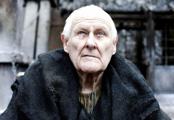 El actor Peter Vaughan interpretó durante cinco años el personaje del ciego maestro Aemo Targaryen en la exitosa serie de HBO. (HBO)