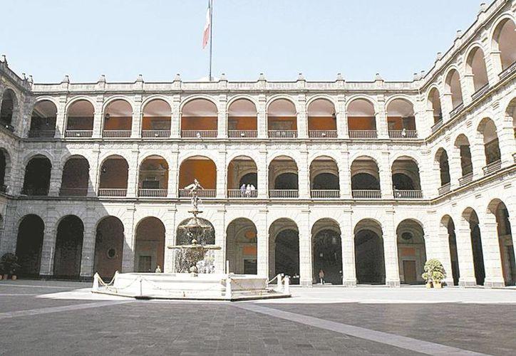 Los diversos salones han sido reutilizados desde que llegó Enrique Peña Nieto al poder. (Milenio)