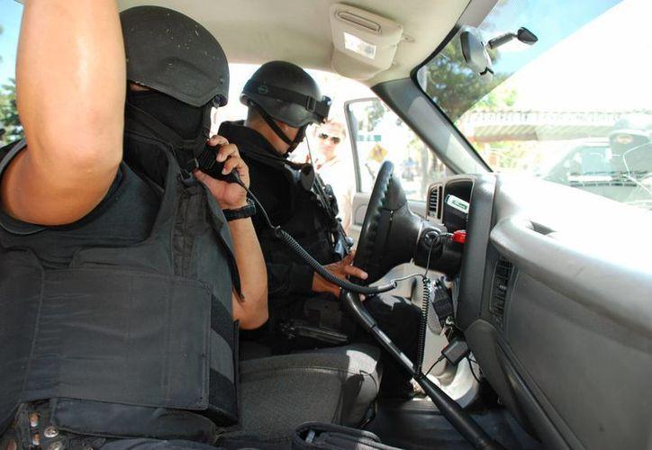 En próximos días se llevará a cabo la contratación de 70 nuevos elementos policíacos. (Harold Alcocer/SIPSE)