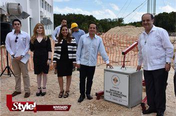 Anáhuac Cancún coloca primera piedra de su nuevo edificio