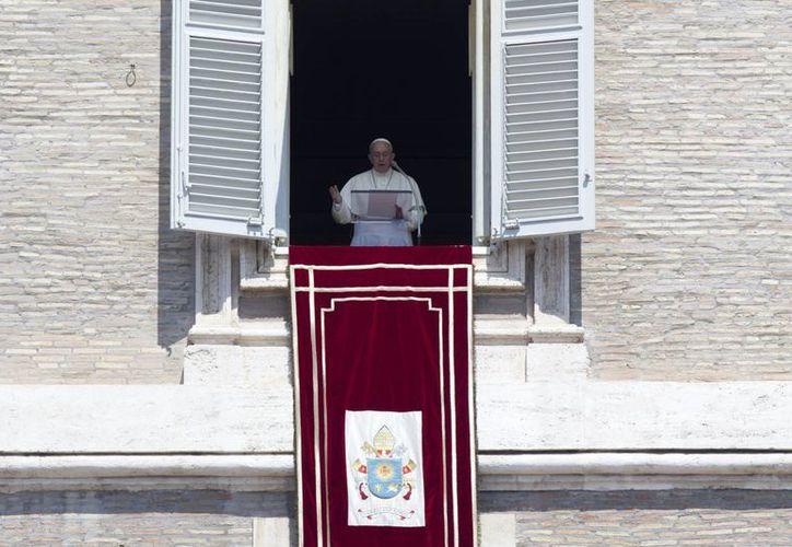 El Papa confió en una pronta solución a los conflictos bélicos en todo el mundo. (AP)