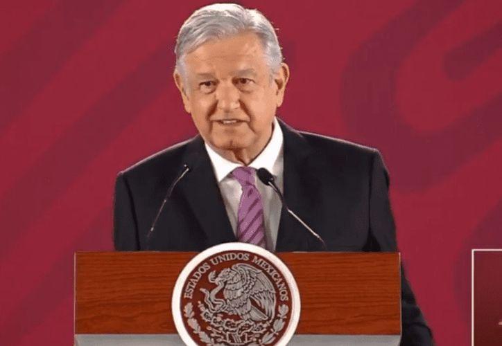 El presidente de México, Andrés Manuel López Obrador, dijo que revisará el caso del municipio de Solidaridad. (Gobierno de México)