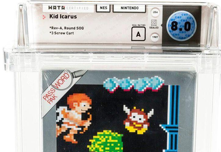 """Un cartucho nuevo de """"Kid Icarus"""" de Nintendo puede ser subastado hasta en 10 mil dólares.  (AP)"""
