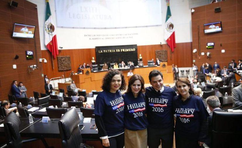 Usuarios de Twitter llamaron a la senadora a respetar la soberanía de México. (Foto: Mariana Gómez del Campo/Twitter)