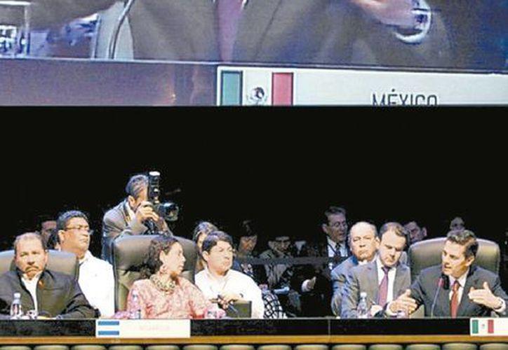 El titular del Ejecutivo fue uno de los oradores en la cumbre de la Celac en Cuba. (Milenio)