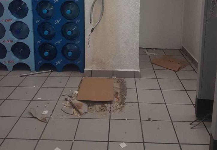 """El cajero automático se encontraba en la tienda denominada """"Sol del Mayab"""". (Eric Galindo/SIPSE)"""
