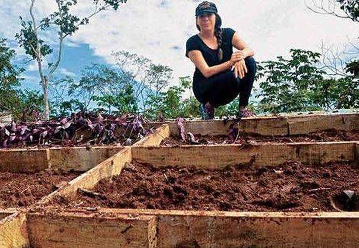 Tania Rodríguez es la creadora de este proyecto, buscando que sea replicable en cualquier parte del mundo, adaptándose a las condiciones climáticas de cada zona. (Contexto/Internet)