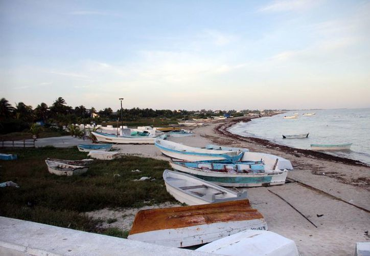 Las embarcaciones permanecerán en el puerto de abrigo de Progreso  dos meses. (Milenio Novedades)