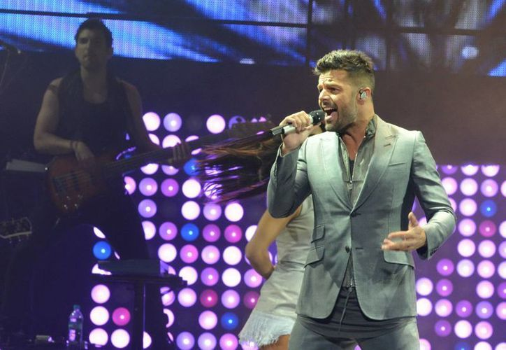 El nuevo sencillo de Ricky Martin se escuchará en todo el mundo la próxima semana, mientras que el nuevo disco saldrá a la venta en febrero. (Foto de archivo de Notimex)