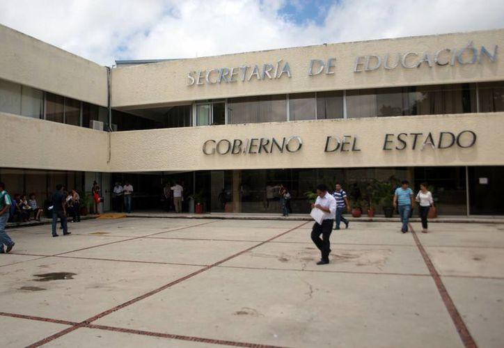 Instalaciones de la Secretaría de Educación Estatal (SEE). (Milenio Novedades)