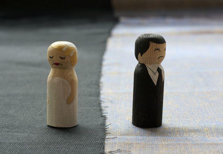 La tasa de divorcios en México aumentó casi cuatro veces. (Shutterstock)