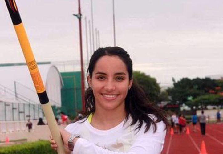 Patricia Mendoza Lugo confía en calificar a la Olimpiada Nacional que se realizará en mayo próximo en Veracruz. (Milenio Novedades)