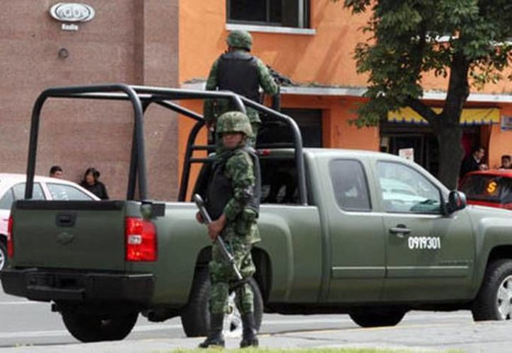 El ataque contra los militares se registró en el rancho  Las Pilas del municipio de Apatzingán alrededor de las 23:00 horas. (Milenio/Foto de archivo)