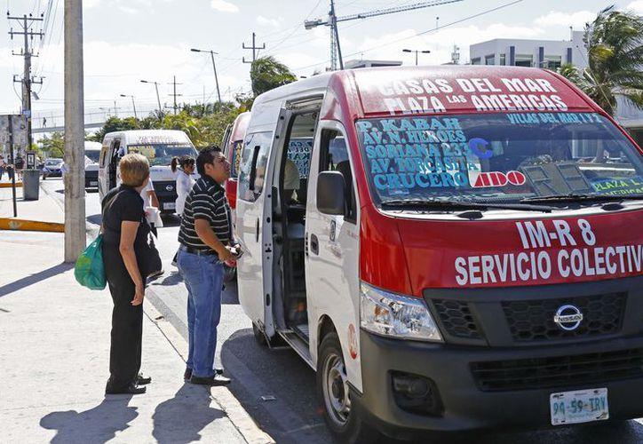 Las concesionarias de transporte registran afectaciones por costos de operación. (Jesús Tijerina/SIPSE)