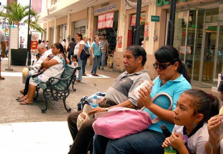 Los registros de calor podrían llegar hasta los 40 grados, advierte la Conagua. (José Argüelles/SIPSE)