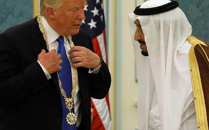 Y Arabia Saudita hacen acuerdos militares por USD$ 110.000