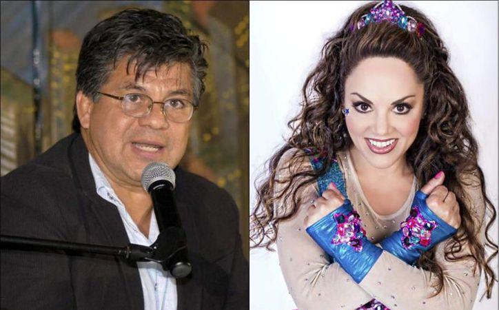 Andrés Puentes (i) aseguró que su exesposa, la cantante Tatiana (d), en contubernio con sus familiares despojó a la hija de ambos de un departamento que fue adquirido en Vallarta cuando estaban casados. (laprensa.hn)