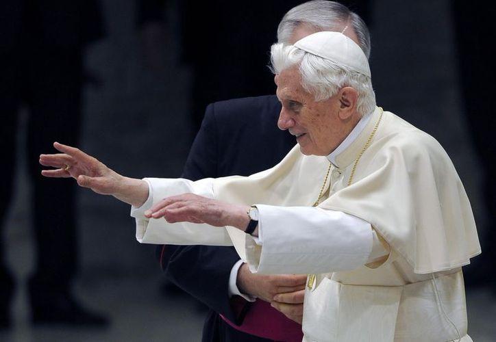 """Benedicto XVI habló de la figura de Juan Bautista en el que se puede ver """"un criterio de justicia animada por la caridad"""". (EFE)"""