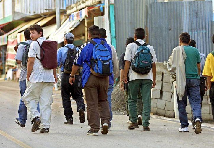 El 50 por ciento de los migrantes de EU son del Centro y Sudamérica; y el otro 50 de México, según cifras de los últimos 10 años. (Milenio Novedades)