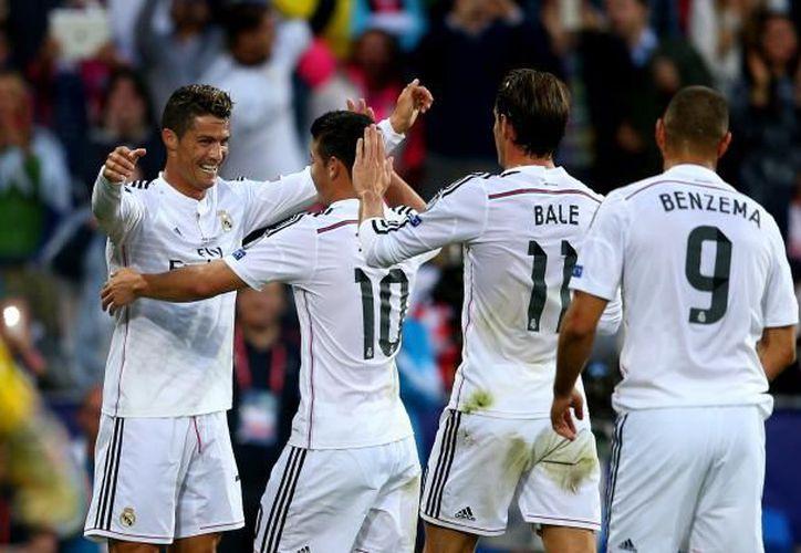 Álvaro Morata abrió la cuenta a los 52 segundos. (Fútbol en vivo).