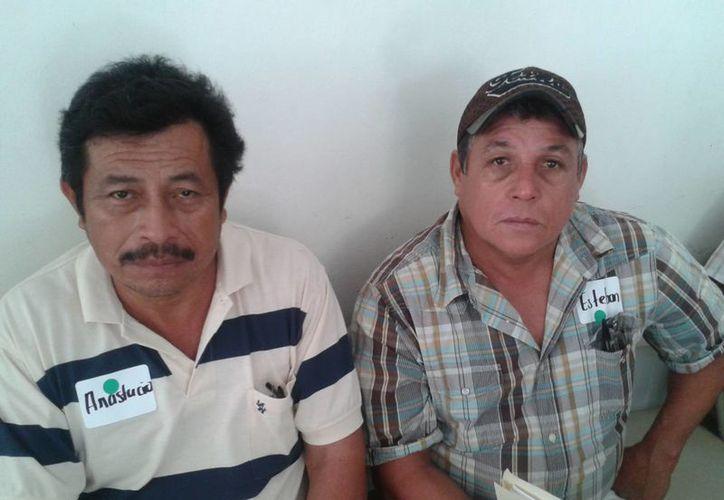 Los representantes de las autoridades municipales de tres comunidades aprovecharon para dar a conocer públicamente la falta de médicos. (Omar Capistrán/SIPSE)