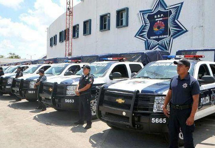 Al menos tres mil elementos vigilarán las elecciones del domingo 7 de junio en Cancún. (Foto ilustrativa/Internet)