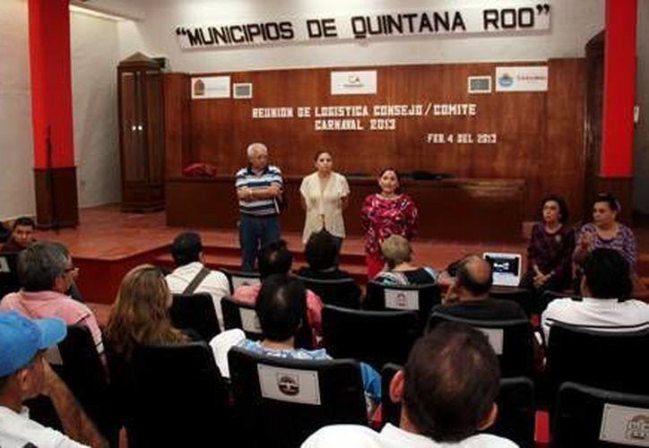 """La sesión del comité y consejo se efectuó en el salón """"Municipios de Quintana Roo"""". (Redacción/SIPSE)"""