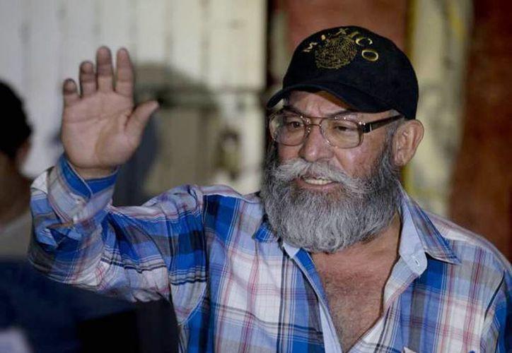 Estanislao Beltrán, líder de autodefensas afirmó que no fueron balazos aislados. (Archivo SIPSE)