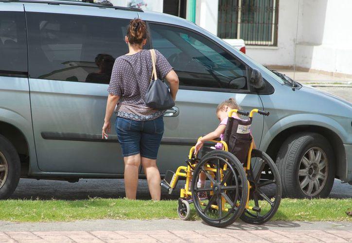 De 282 escuelas secundarias y telesecundarias en la entidad, 81 tienen matriculados niños con algún tipo de discapacidad. (Joel Zamora/SIPSE)