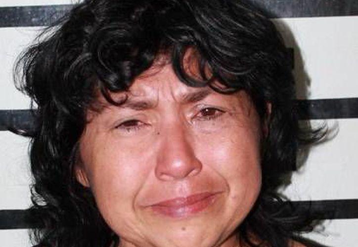 Lorena Guadalupe del Socorro Salazar Echeverría, exfuncionaria del IMSS detenida este viernes. (SIPSE)