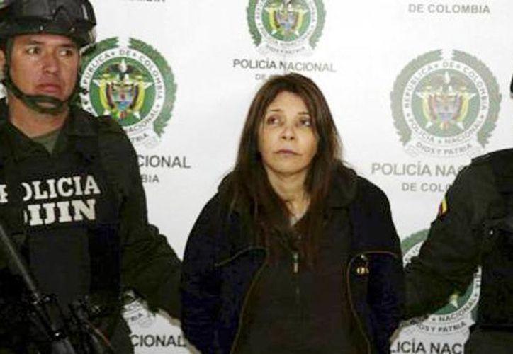 """En 2010 el gobierno estadounidense acusó a Cifuentes, apodada """"La menor"""", de asociación ilícita para importar cocaína y fabricar cocaína a sabiendas de que sería importada a Estados Unidos. (Foto tomada de elcolombiano.com)"""