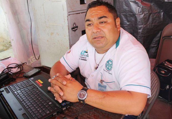 Julio Echeverría Suaste dijo que el problema cada vez aumenta. (Alida Martínez/SIPSE)