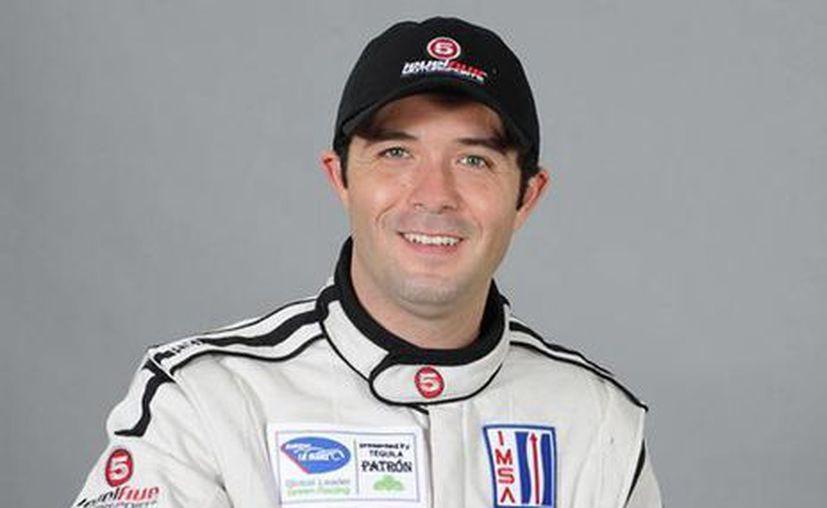 El piloto mexicano de carreras Luis 'Chapulín' Díaz estuvo en Yucatán. (autofan.mx)