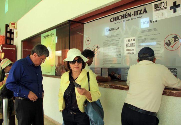Chichén Itzá es el sitio más visitado de la entidad con dos millones 111 mil 875 el año pasado. (Milenio Novedades)