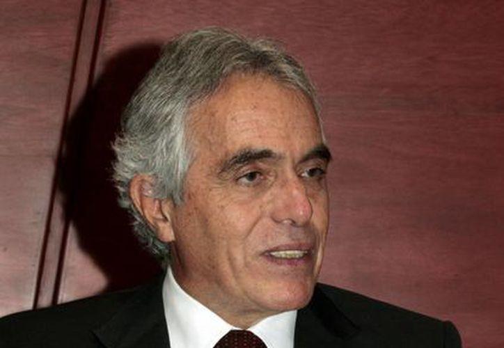 En entrevista para Notimex, el presidente de la Corte Interamericana de Derechos Humanos, Diego García Sayán (Notimex)
