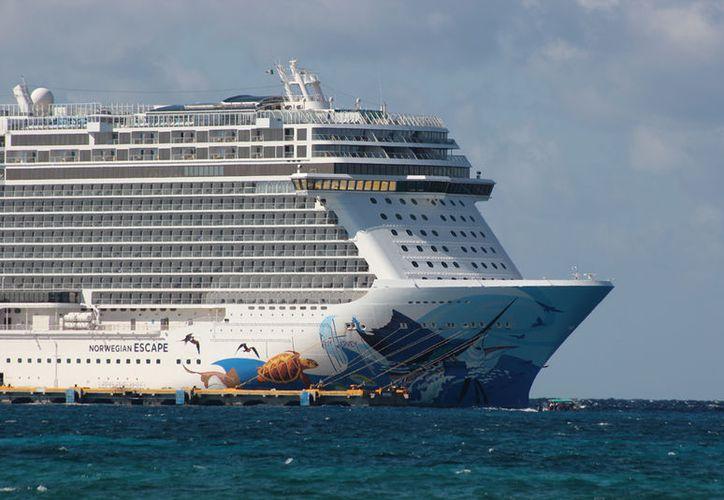 35 cruceros llegarán a Cozumel. (Gustavo Villegas/SIPSE)