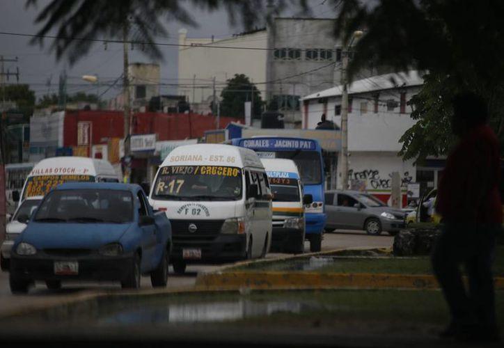Esperan que los cambios no afecten a los pasajeros del transporte urbano. (Israel Leal/SIPSE)