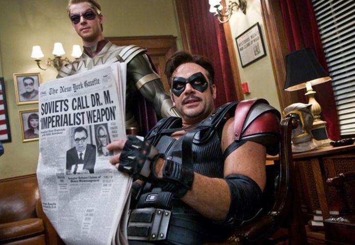 La celebrada novela gráfica de Alan Moore y Dave Gibbons, llevada en 2009 al cine por Zack Snyder, calienta motores para su salto a la pequeña pantalla.  (Excelsior)