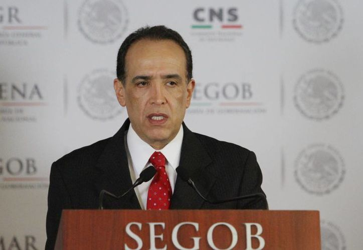 El jefe de la SEIDO, Felipe de Jesús Muñoz Vázquez, indicó que los 18 presuntos plagiarios fueron remitidos al penal de Nayarit. (Notimex)