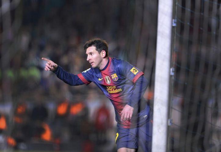 Messi ha marcado hasta el momento 58 tantos en la Liga española. (EFE)