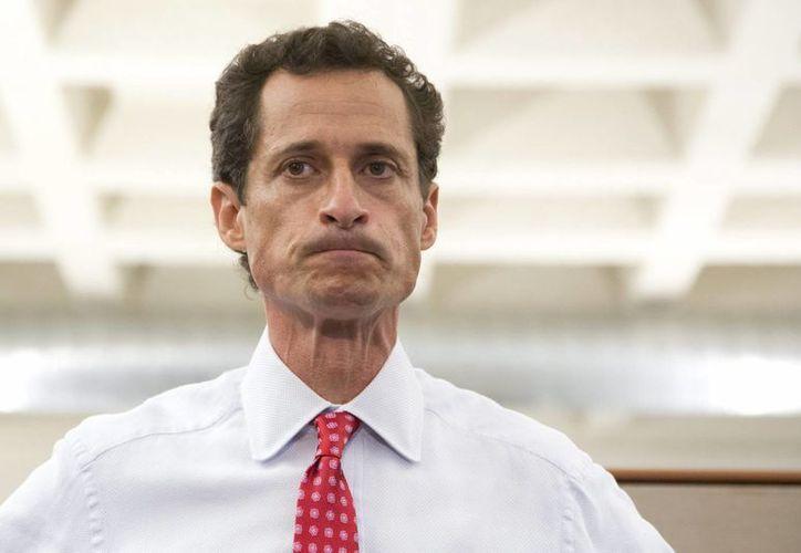 Anthony Weiner ha dicho que no renunciará a sus aspiraciones. (EFE)