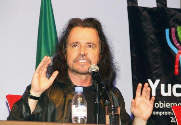 Yanni dijo sentir la humanidad y la espiritualidad del Mayab. (Juan Albornoz/SIPSE)