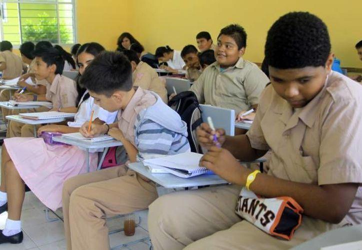 En caso necesario se podrían adaptar aulas móviles. (SIPSE/Foto de archivo)