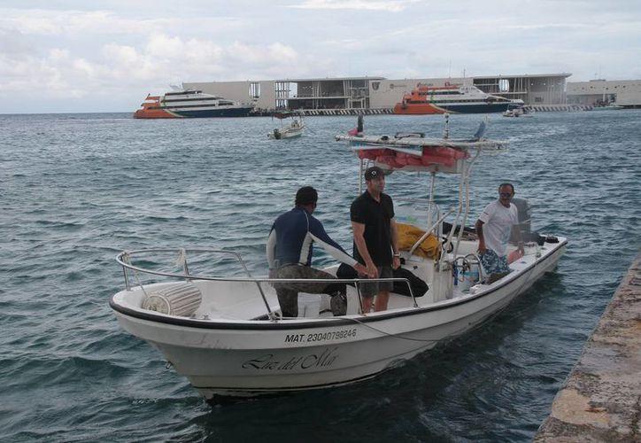 Los vendedores de tour de Playa del Carmen proporcionan información errónea a los turistas. (Julián Miranda/SIPSE)