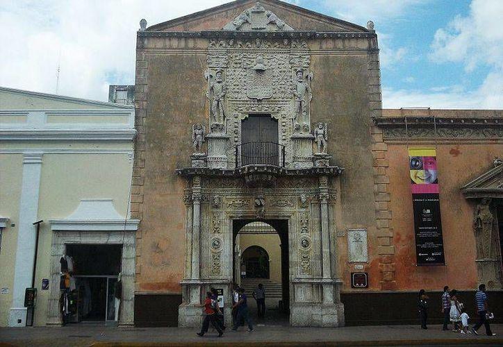 La Casa de los Montejo, uno de los edificios más antiguos e importantes en la historia de Yucatán, es uno de los aspirantes a estar entre los '7 Tesoros del Patrimonio Cultural de Mérida'. (Foto cortesía del Ayuntamiento de Mérida)